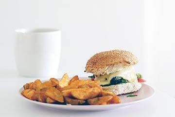 Vegan burger – simple, health, delicious